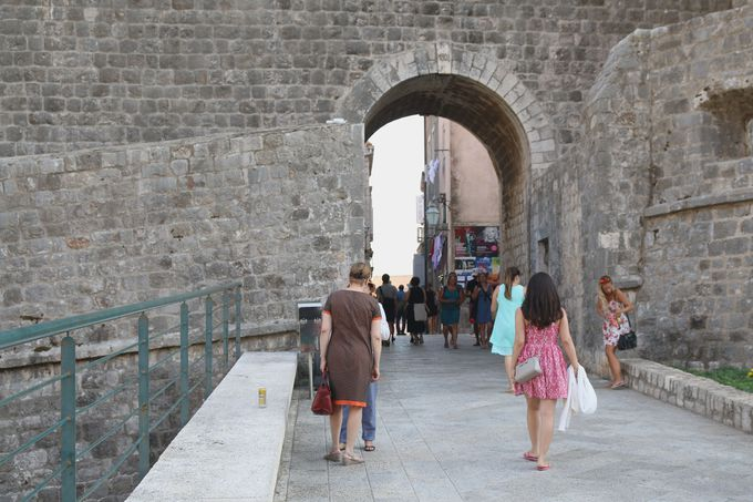 午前:ドブロブニク旧市街にいざ入ろう!