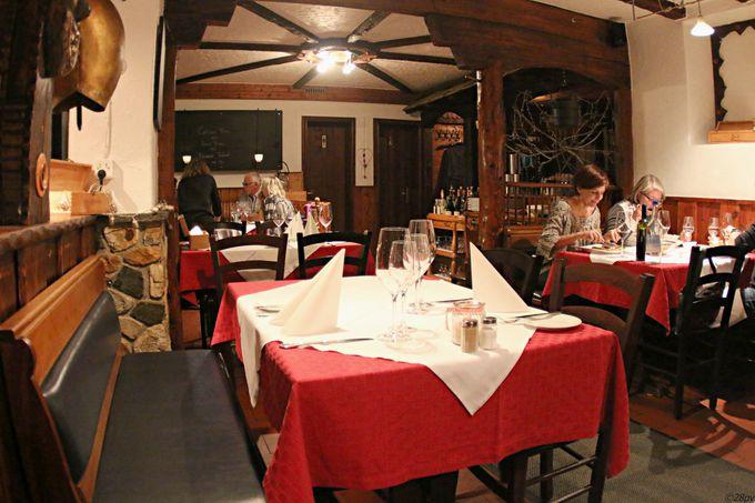 ツェルマットでスイス料理に舌鼓