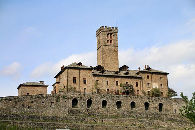 サヴォイア家の狩猟の拠点となったロイヤルサッレ城