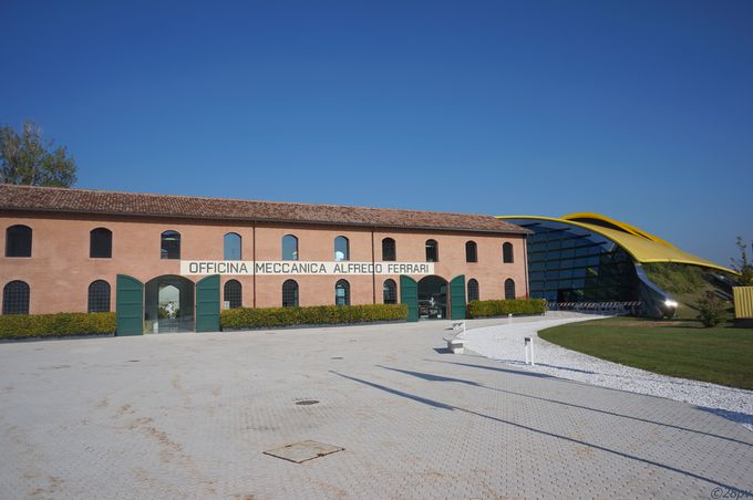 エンツォ・フェラーリ博物館とマセラティ本社を訪問