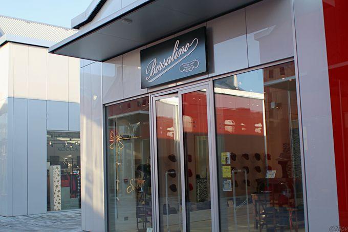 もちろん通常ファッション店舗も豊富!