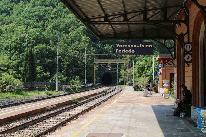 ヴァレンナまでのアクセス
