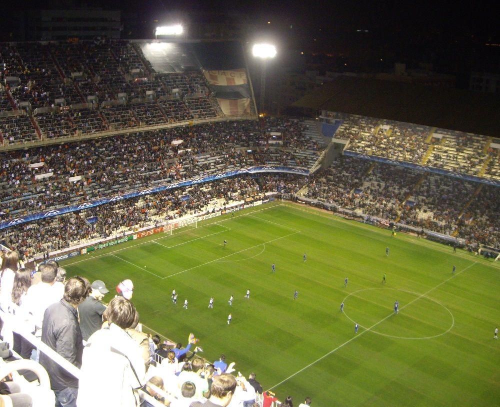 バレンシアの強豪チーム「バレンシアCF」