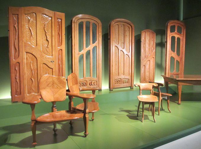 これは珍しいガウディ作の家具!