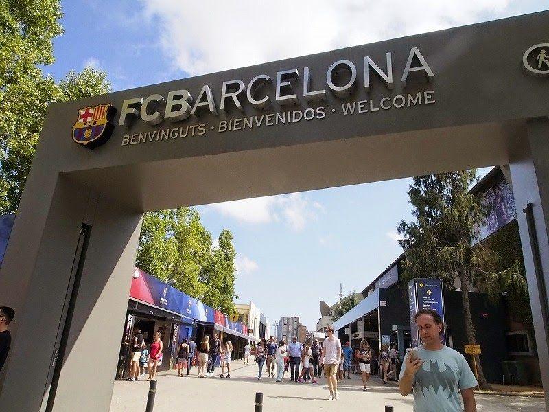 FCバルセロナのホームスタジアムに行ってみよう!