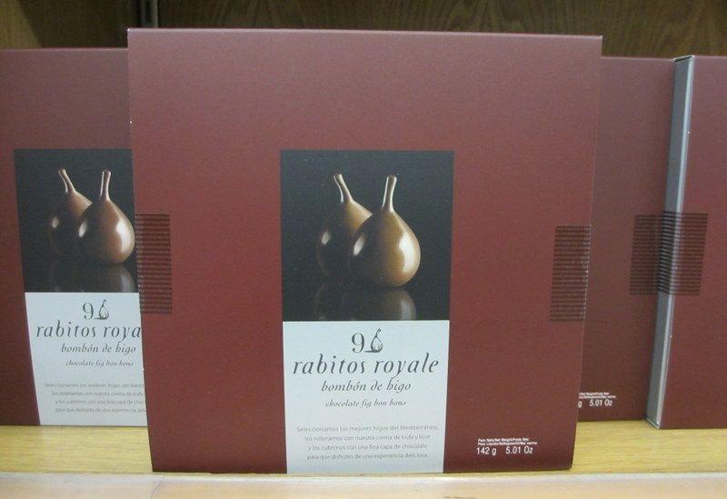 グルメにオススメないちじくチョコレート「Rabitos Royale」