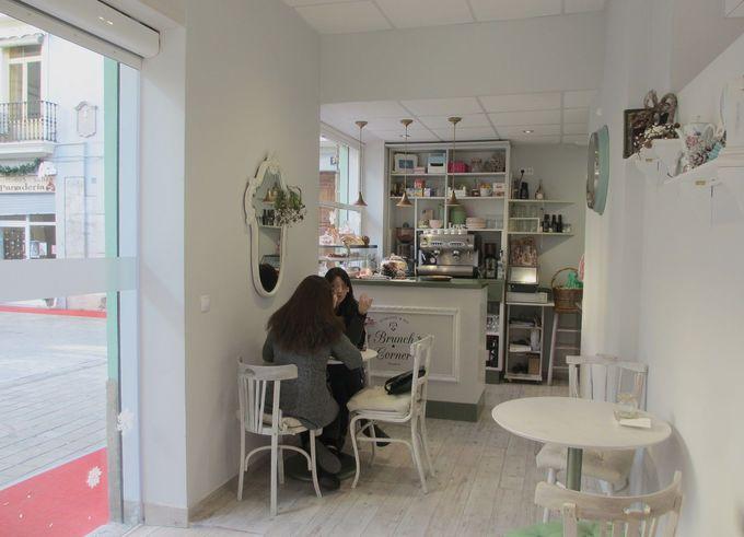 バレンシア旧市街のまさに隠れ家な乙女系カフェ「Brunch Corner」