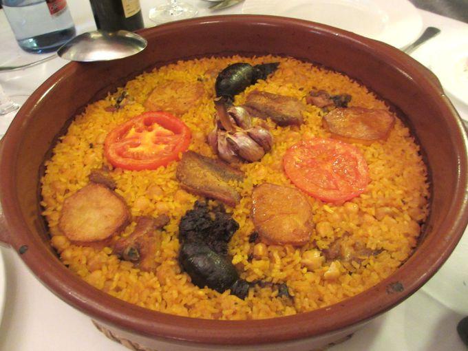 バレンシアでしか食べられない「アロス・アル・オルノ」:ラコ・デル・トゥリア