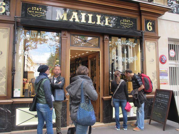 ディジョンマスタードの老舗マイユのパリ本店