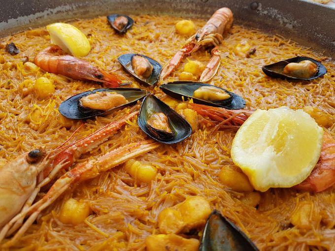 「デエサ・デ・ホセ・ルイス」のパエリアとおススメ前菜