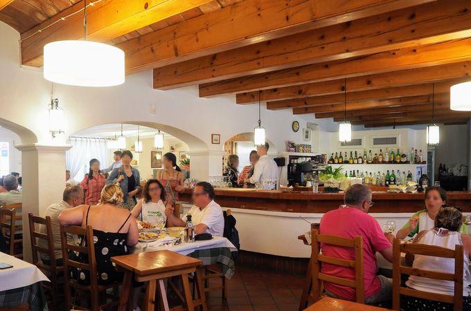 ロブスター消費量NO.1 レストラン「Es Cranc」