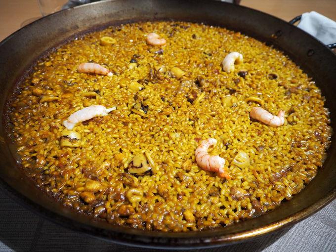 「スクレール・バレンシア」で食べるべきパエリアはこれ!