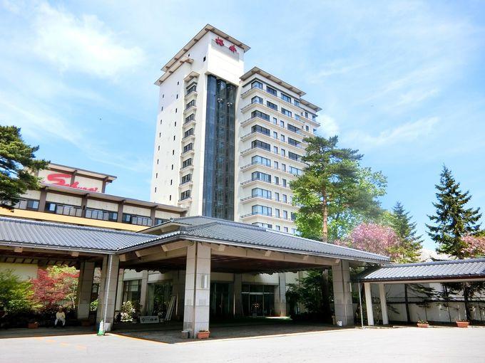何でも揃った草津の老舗宿「ホテル櫻井」