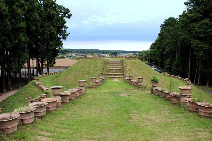 16基もの古墳が集まる「くれふしの里古墳公園」