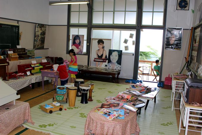 教室は「昭和」で埋め尽くされていた!