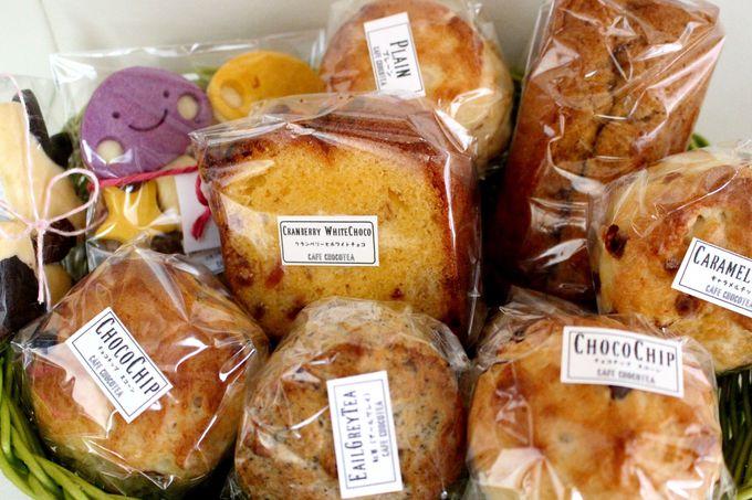 毎月恒例!焼き菓子の祭典「BAKE SHOP」も要チェック!