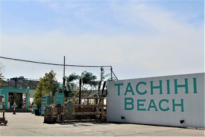 海のない立川に突然現れた「TACHIHI BEACH」