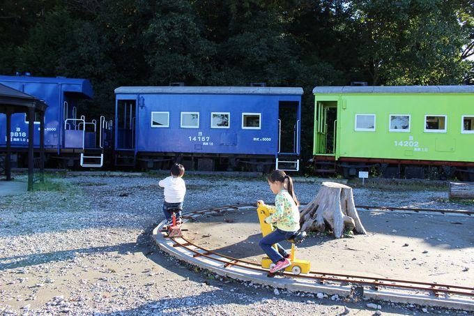 電車の警笛も鳴らせます!