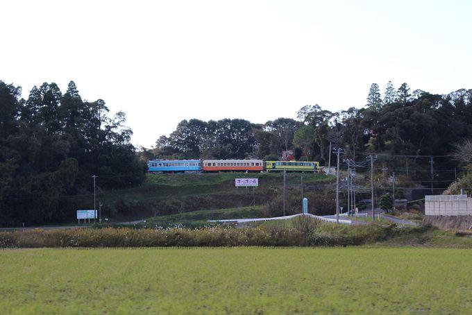千葉県いすみ市で発見!珍景「ポッポの丘」