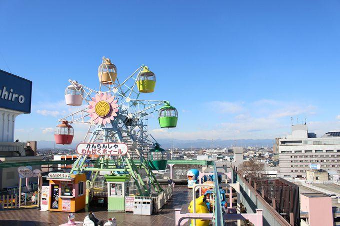屋上ならではの眺望を楽しもう!