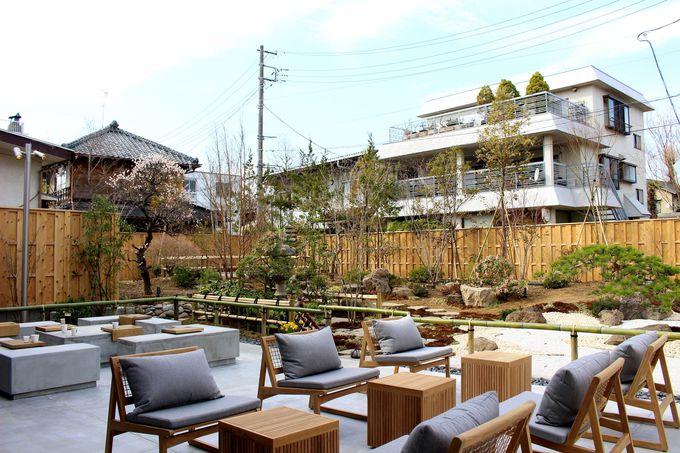 なんと日本庭園付き!四季を感じながらのカフェタイム