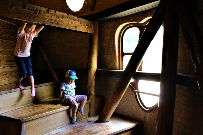 子供の好奇心・冒険心をくすぐる仕掛けがいっぱい!