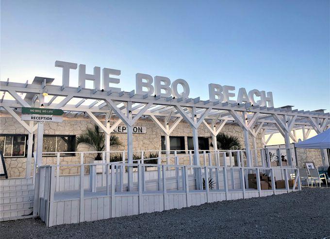 ビーチリゾート空間「THE BBQ BEACH in TOYOSU」