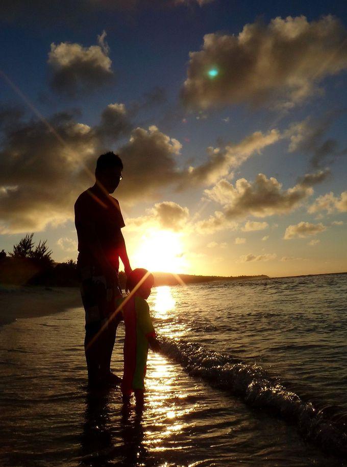 まっしろな砂浜を独り占め!!昼も夜も美しいビーチ