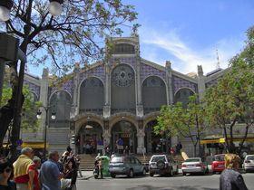 モデルニスモ様式にして欧州最大級!バレンシア中央市場
