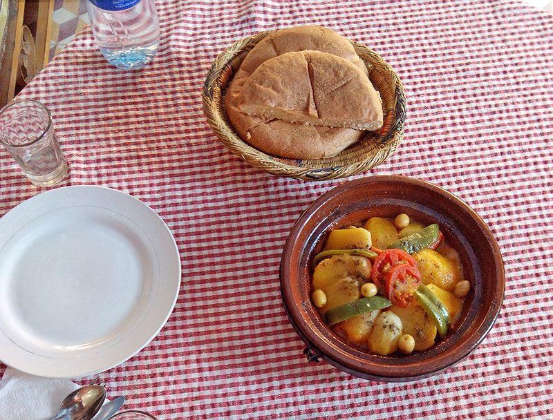 モロッコの食を堪能