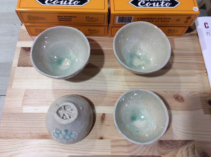 日本人陶芸家の作品も販売!