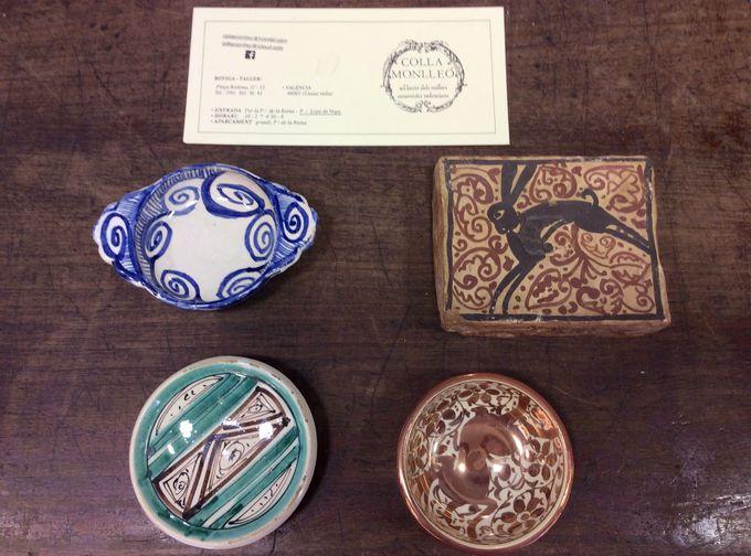 各時代の陶器を再現