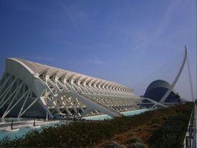 まるでSFの世界!バレンシア「芸術科学都市」で近未来を体感!