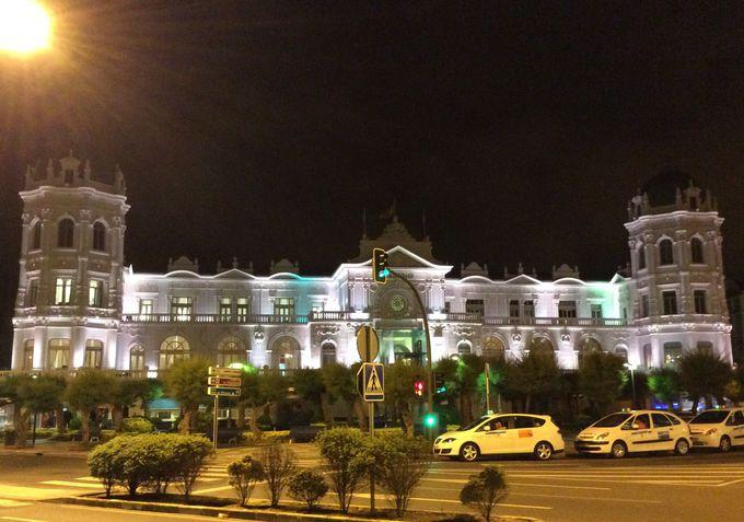 カジノはサンタンデールで最も美しい建物の一つ