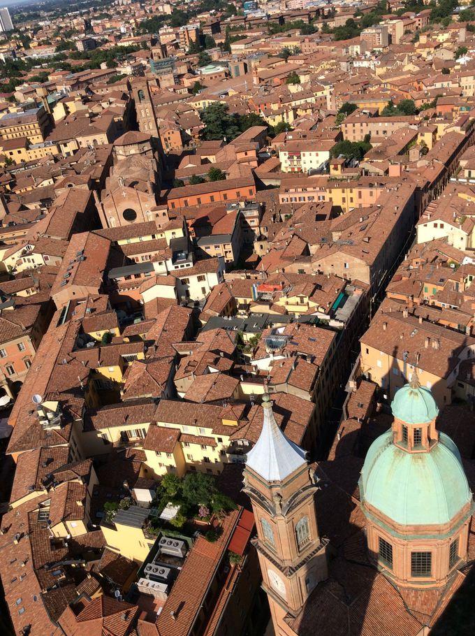もう一つの斜塔「アシネッリの塔」に登ってみましょう!