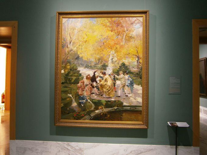 光を描いた画家ソロヤの豊富なコレクション