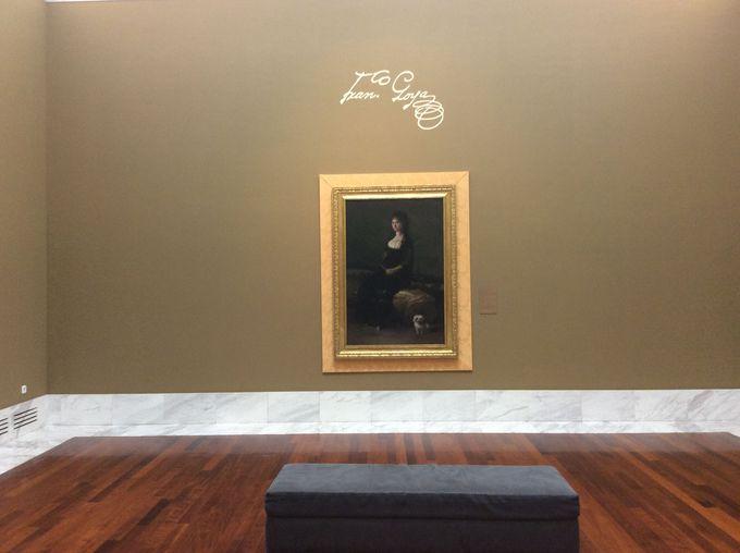 ゴヤの肖像画コレクションもある!