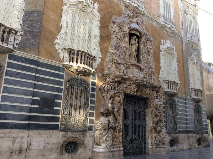 ロココ様式の「ドス・アグアス侯爵邸」