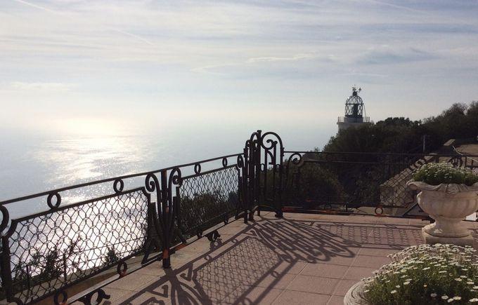 イベリア時代の遺跡と灯台のある山は景色も最高!