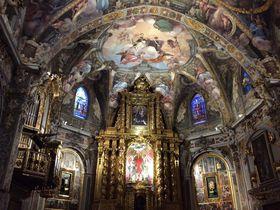 スペイン・バレンシア「聖ニコライ教会」で17世紀のフレスコ画鑑賞!