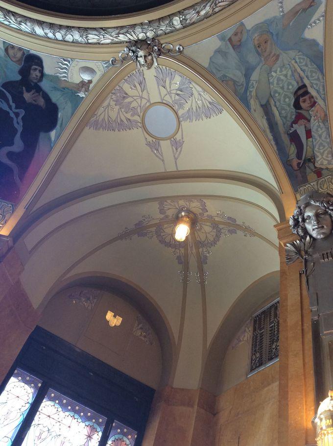 アルフォンス・ミュシャが内装を手掛けた市長室