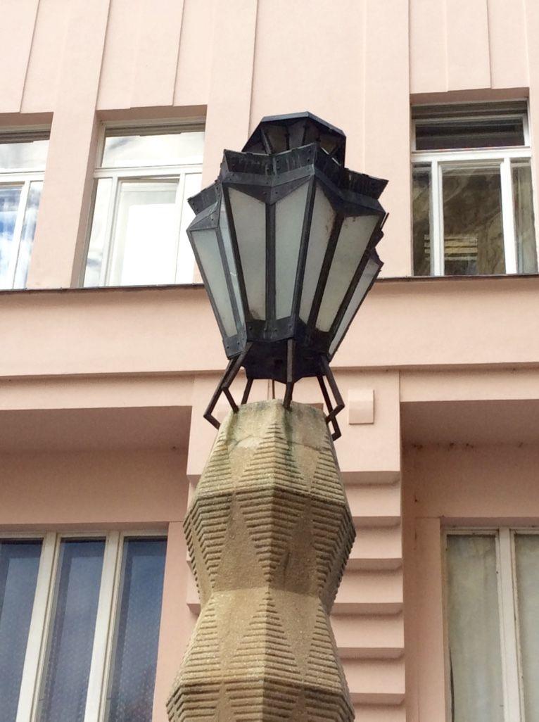 エミール・クラリーチェクの街灯