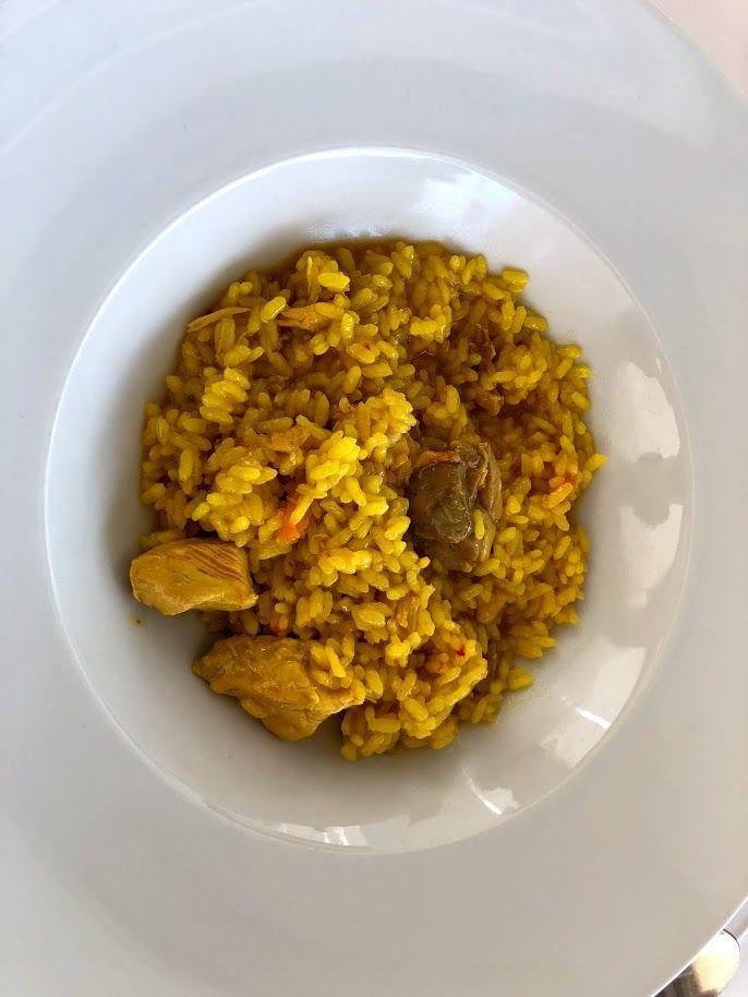 モダンなスペイン料理