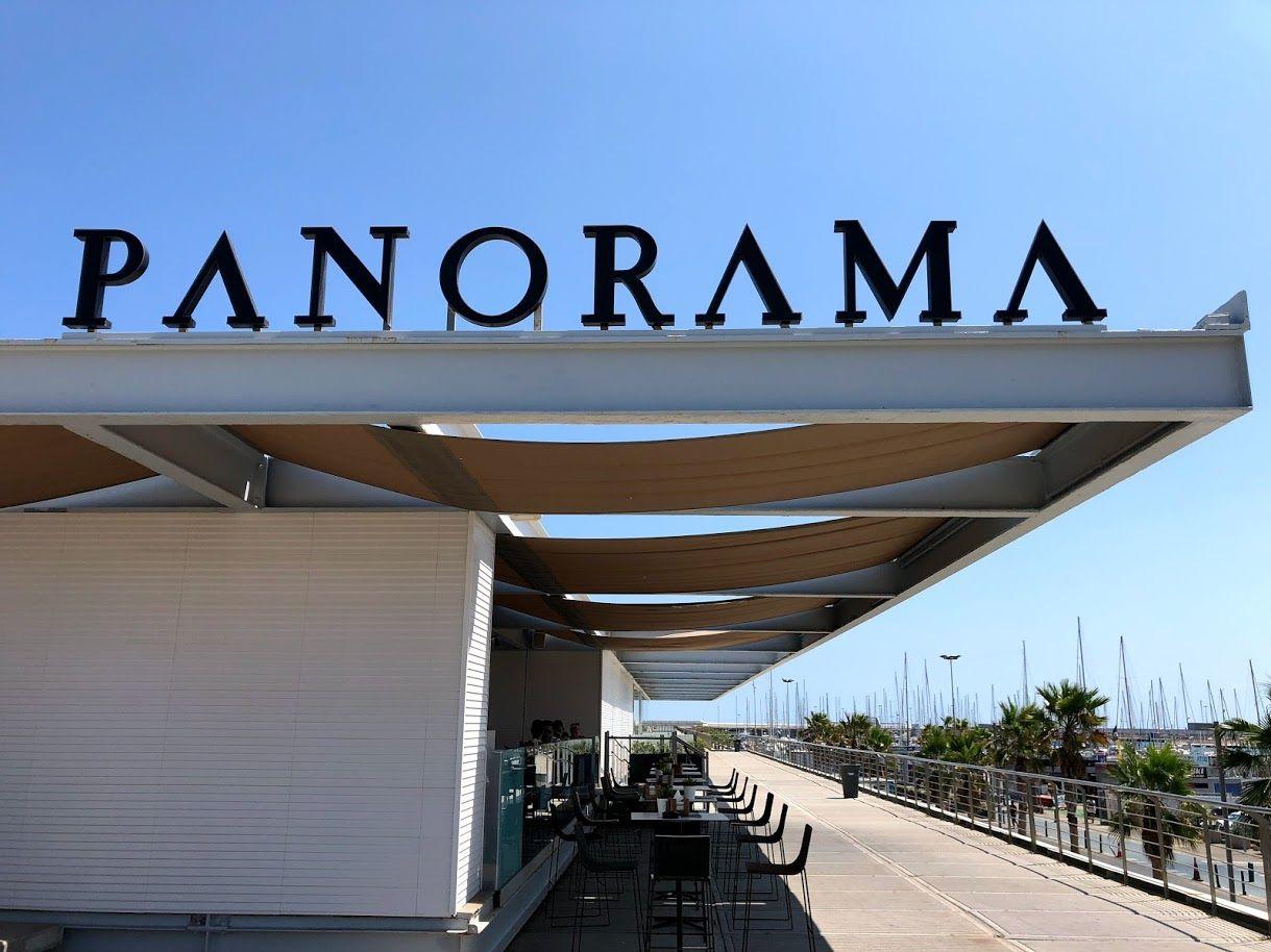 人気のビーチエリアに構えるパノラマ