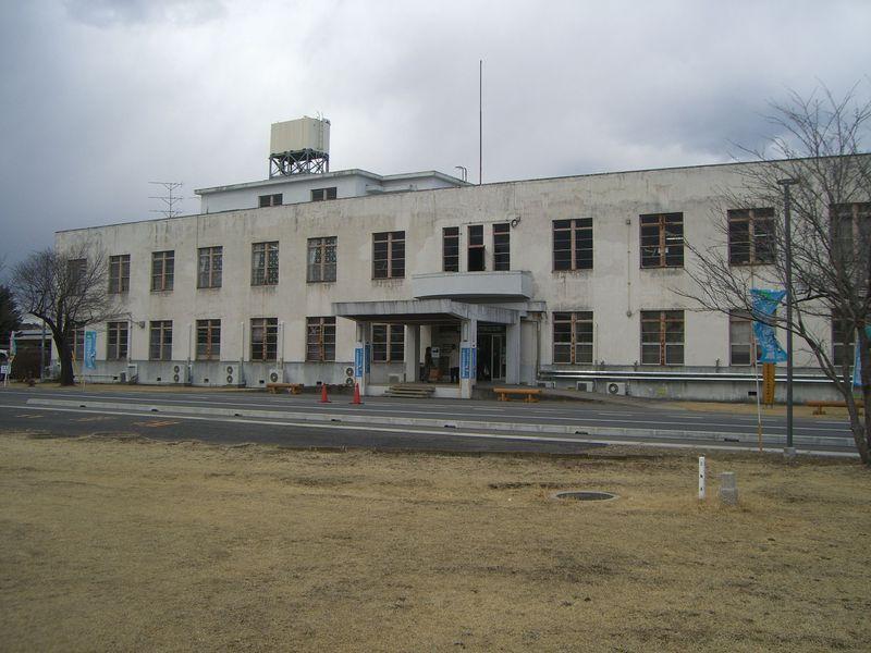 ほぼ当時のままの状態で残されている司令部庁舎