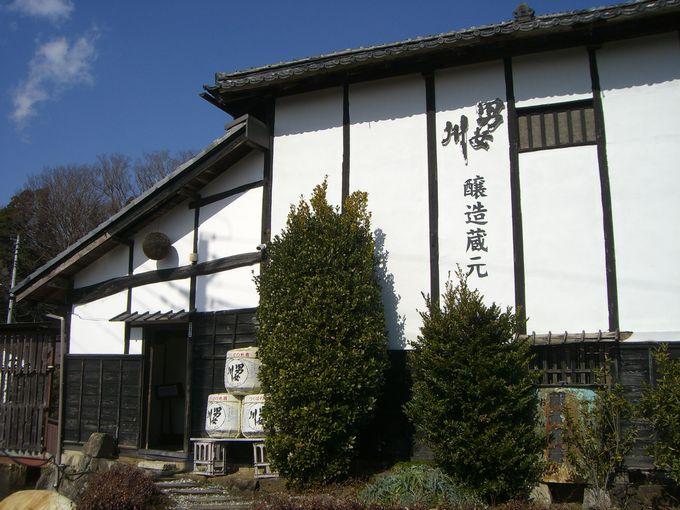 筑波山神社の御神酒「男女川」の酒蔵として知られる稲葉酒造場