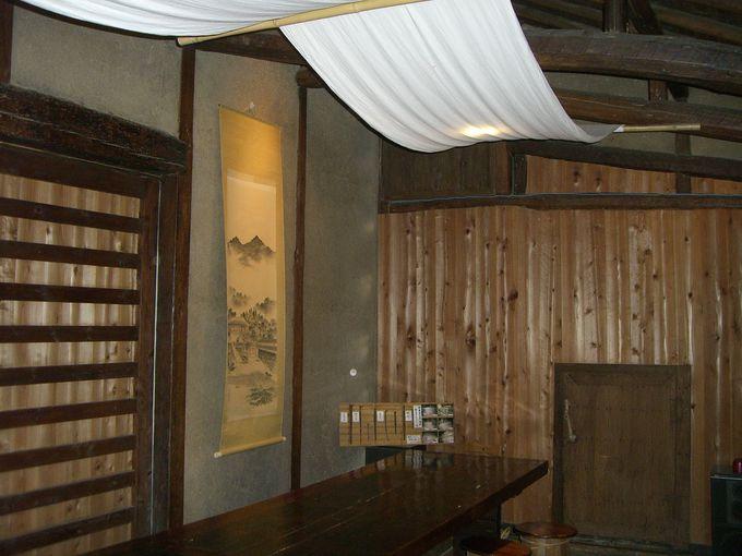 酒蔵を改装したレストラン星ふる里蔵「KURA」