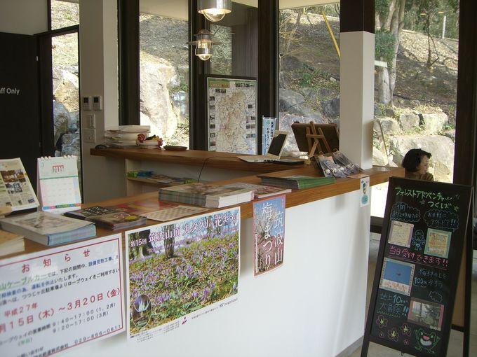 筑波山周辺の観光案内情報も充実!