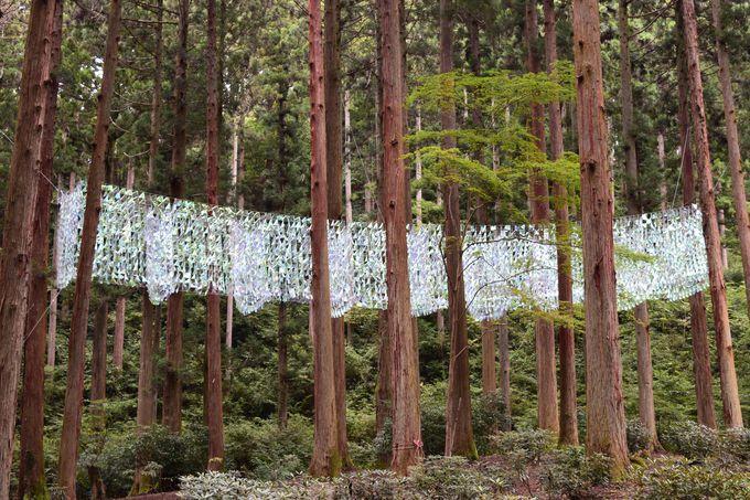 日本最強クラスのパワースポット御岩神社に境内地空間インスタレーション