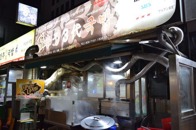 釜山のご当地グルメ・テジクッパは「松亭3代クッパ」!